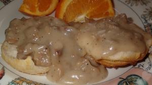 Vegan Biscuits & Gravy | Vegan Sausage Gravy Recipe